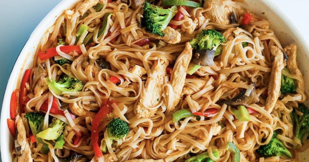другой рисовая лапша рецепты с овощами фото фото мастер-классы для